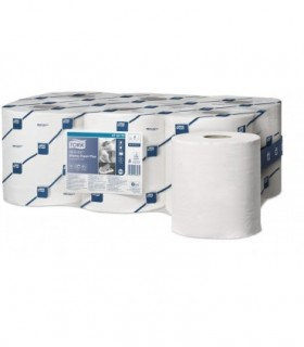 ROULEAUX ESSUYAGE DEVIDAGE CENTRAL PURE OUATE BLANCHE 2 PLIS 200 FORMATS Essuyage