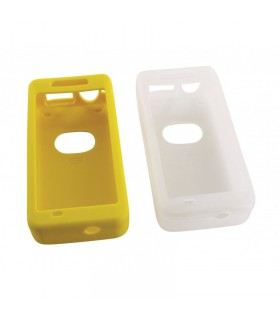 LOT DE 2 PROTECTION SILICONE POUR OXYMETRE MASTER PALM 2 (JAUNE/TRANSPARENT)